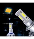 Светодиодная авто лампа, головной свет COB 9005