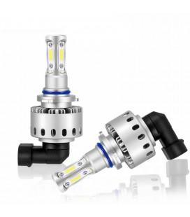Комплект светодиодных авто LED ламп 45 Вт, головной свет COB 7P - 9012 (HIIR 2)
