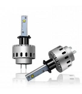 Комплект светодиодных авто ламп 7S, 40 Вт, CREE - XHP50 - H1