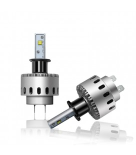 Комплект светодиодных авто ламп 7S, 40 Вт, CREE - XHP50 - H3