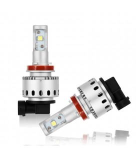 Комплект светодиодных авто ламп 7S, 40 Вт, CREE - XHP50 - H8