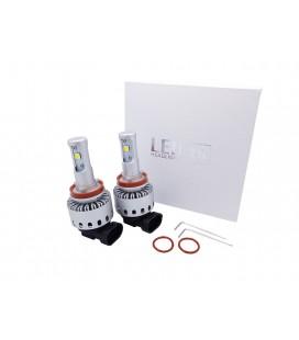 Комплект светодиодных авто ламп 7S, 40 Вт, CREE - XHP50 - H11