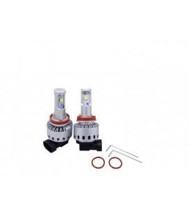 Комплект светодиодных авто ламп 7S, 40 Вт, CREE - XHP50 - H16