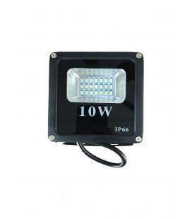 Светодиодный прожектор SMD-10W-IP66-12V ЛЮКС