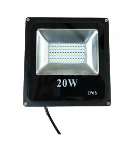 Светодиодный прожектор SMD-20W-IP66-12V ЛЮКС