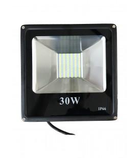 Светодиодный прожектор SMD 30W-IP66-12V ЛЮКС