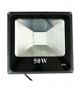 Светодиодный прожектор SMD-50W-IP66-12V ЛЮКС