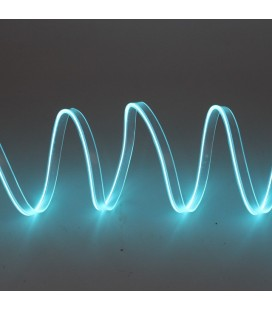 Led гибкий неон узкий (EL провод) 2,3 мм, 360 ° ,  5 м, с разъемом  для подключения