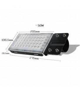 Модульный светодиодный прожектор (консольный светильник) на кронштейне, 220 В, 50 Вт