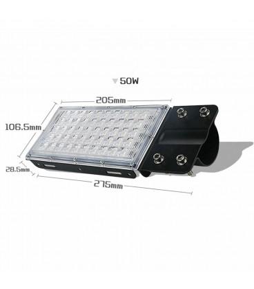 Модульный светодиодный прожектор 50 ватт
