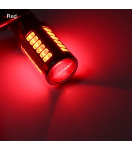 Авто LED лампа  цоколь 1157(P21/5W,BAY15D)  тип: smd 5630 +линза  8 Ватт белый
