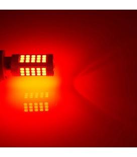 Авто LED лампа  цоколь 1156(P21W, BA15S) тип: smd 2835 +линза 13 Ватт