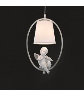 """Люстра """"Песня Ангела"""" с тканевым плафоном, Е14, 60Вт"""