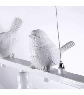 "Люстра ""Весенние птицы"", Е14, 180Вт"