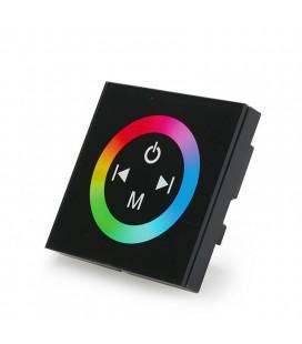 RGB Контроллер Встраиваемый Tuoch Panel-Black, 12-24 В, 12А, 144-288 Вт