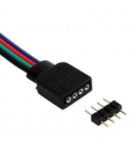 Соединитель для ленты RGB, 8-10 мм, длина 500 см.