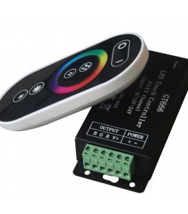 RGB Контроллер Tuoch GT666 RF, 12-24 В, 12 А, 144-288 Вт