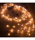 Светодиодная гирлянда Нить (Роса) Лоза ,10 нитей, 200 диодов ,2 м, c адаптером питания