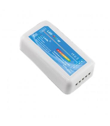 RGBW Контроллер WIRELESS — RF, радио,12-24В, 16А, 192-384Вт, многозонный
