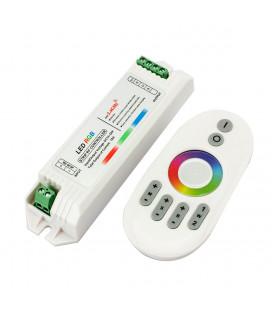 RGB Контроллер, Радио, 12-24В, 18А, 216-432Вт, сенсорный пульт