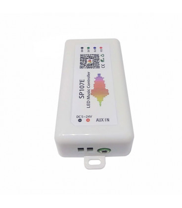 SPI Контроллер Аудио SP107E, Мини, Bluetooth, без пульта, 5-12В