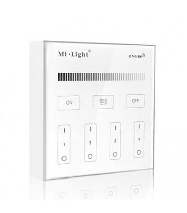 Панель сенсорная Mi-light B1, накладная, радио 2.4 GHz, многозонная