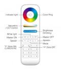 Пульт управления Mi-light FUT089 ,RGB+CCT , радио 2.4 Ghz, многозонный