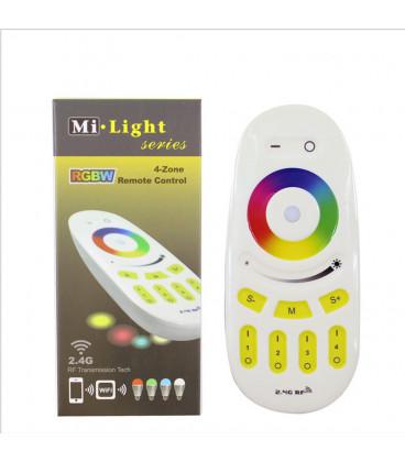 Пульт управления Mi-light FUT096, RGBW (RGB), радио 2.4 GHz, многозонный