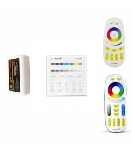 RGBW Комплект Mi-light, многозонный, контроллер FUT038, радио, 12-24 В