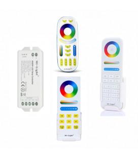 RGBW Комплект Mi-light, многозонный, контроллер FUT044, радио, трансмиттер, 12-24 В