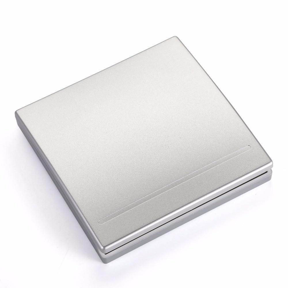 Выключатель - 1 клавиша, серебро